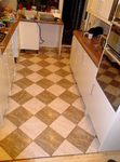 Kitchen floor tiling in Wokingham